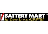 Battery Mart coupons or promo codes at batterymart.com