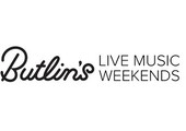 Butlins Live Music Weekends coupons or promo codes at bigweekends.com