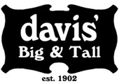 Davis Big & Tall coupons or promo codes at davisbigandtall.com