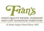 Fran's Wicker and Rattan Furniture coupons or promo codes at franswicker.com