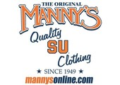 Manny's coupons or promo codes at mannysonline.com