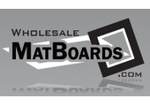 Wholesale MatBoards coupons or promo codes at wholesalematboards.com